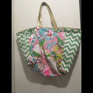 Lilly Pulitzer by Target Canvas Tote